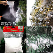 Instant Xmas Magic Snow Powder Reusable Artificial Christmas Decoration Fake UK
