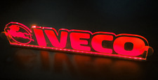 Red LED 24V Interior Cabin Light Plate Sign for IVECO Trucks 500 mm window fit