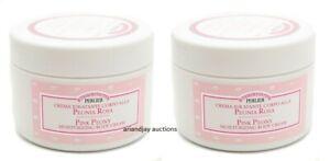 Lot of 2 New Perlier Pink Peony Moisturizing Body Cream 6.7 fl oz each