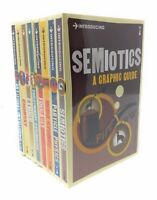 Graphic Guide Introducing series 4 Collection 8 Books Set, Semiotics, Ethics...