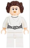 LEGO STAR WARS minifigura Princesa Leia ESTRELLA DE LA MUERTE 75159 RARO NUEVO