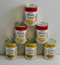 3X Read German Potato Salad & 3X Classic 3 Bean Salad 15 oz exp. DEC 2022