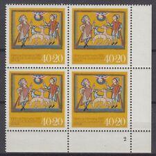 Germany Berlin 1980 ** Mi.633 Bl/4 Weihnachten Christmas Altomünster[da203]