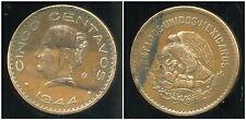 MEXIQUE 5 centavos 1944