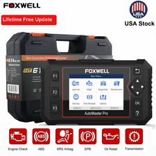 Foxwell NT614 Elite Automotive ABS SRS AT Oil Reset Engine Diagnostic Scanner US