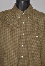 Ralph Lauren Men's Green Checkered Long Sleeve Button Down Shirt Medium / 15.5