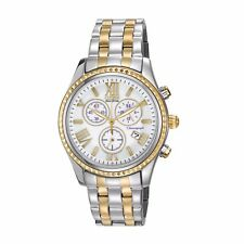Citizen Eco-Drive Women's FB1364-53A Chronograph Two-Tone Bracelet 40mm Watch