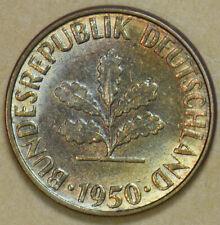 Germany 1950 5 Pfennig 292561 combine shipping