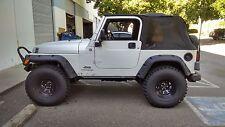 Hot Metal FAb 1997-2006 Jeep Wranler TJ Rock Sliders MAXX Protection