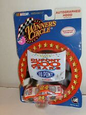 DEAL#24 JEFF GORDON DUPONT 200YRS 2002 SPECIAL PAINT HOOD WINNERS CIRCLE 1/64