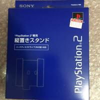 NEW!! Official SONY PlayStation 2 Blue Vertical Stand SCPH-10220 PS2 Boxed