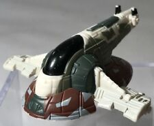"Star Wars Micro Machines Slave 1 Boba Fett 3"" Rare Mini Ship Hasbro 2004 Plastic"