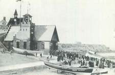 Postcard British repro Lifeboat House Cullercoats