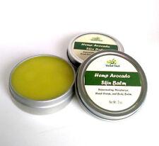 Hemp Oil Avocado Butter Body Balm Rejuvenating Dry Skin Care Lanolin Hand Cream