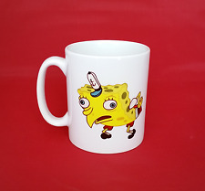 Mocking Spongebob Meme Inspired Coffee Tea Mug 11oz