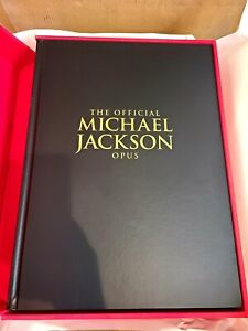 Official MICHAEL JACKSON - OPUS Book & Glove in Original Boxes 1st Edition NEW