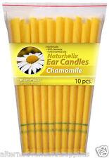 Naturhelix Ear Candles Chamomile 5 Pairs Organic Beeswax and Cotton  ARTG 185554