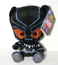 Rare EU Black Panther Glambels Marvel Plush Big Eyed Figure Toy New Europe Only