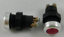 Kontrollleuchte Anzeigenleuchte Kontrolllampe rot 6V 12V Fassung BA9s - 75