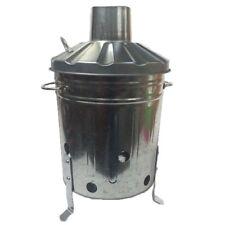 MINI HEAVY DUTY 15 Liter Small Garden Metal Incinerator Bin Fire Burning Leaves