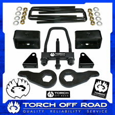 "3"" Front 3"" Rear Lift Kit 01-10 Chevy GMC Sierra Silverado 2500 2500HD SE Tool"
