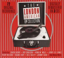 THE LONDON AMERICAN EP COLLECTION (CHUCK BERRY, JOHNY CASH,...) 3 CD NEW+