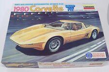 Lindberg Corvette 1980 Mid Engine 1:18 Snap Fit Model Kit Concept Experimental