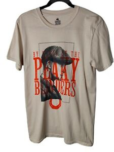 Official Peaky Blinders T Shirt Tommy Garrison TV Show Logo By Order Size M Tee