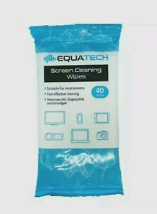 40 x Screen Cleaning Wet Wipes Laptop LED LCD TV Computer iPad Monitor Cleaner
