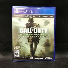 Call of Duty 4: Modern Warfare Remastered (PS4) Latin America Version / NEW