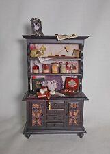 Dollhouse miniature VAMPIRE HUNTER (Van Helsing) DRACULA kit Unit / Display 12th