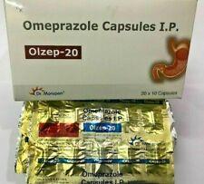 200 Capsules Dr. Morepen OTC 20mg Omeprazole Expiration JAN 2021 Acid Reducer