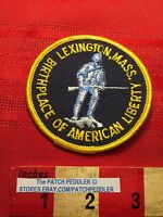 PATCH ~ LEXINGTON MASSACHUSETTS BIRTHPLACE AMERICAN LIBERTY C632
