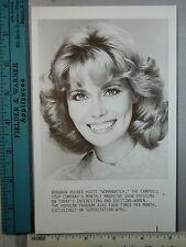Rare Original VTG Barbara Rucker Womanwatch Campbell Soup Company WTBS TV Photo