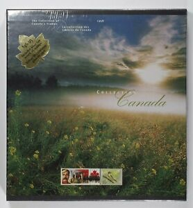 Canada Post Office Yearbook Annual collection 1998 Fresh with original seal wrap