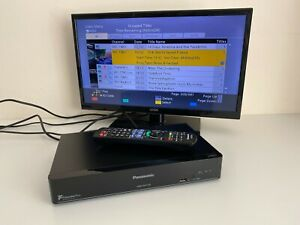 Panasonic DMR-HWT250EB 1TB HDD TV Recorder with Remote Control - Tested VGC