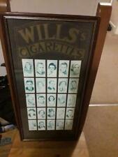 More details for cinema stars  of 25 cards wills's cigarettes cards framed
