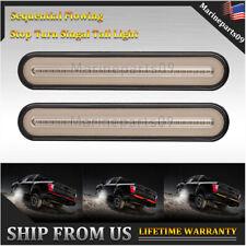 """2x 9"""" Sealed Identification LED Lights Bar for Truck&Trailer Brake Flow Turn 12V"""
