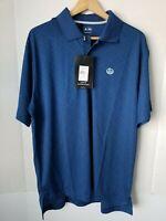 Adidas Men's Golf CLIMACOOL Short Sleeve Shirt NWT Reynolds Plantation Logo