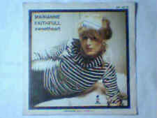 "MARIANNE FAITHFULL Sweetheart 7"" ITALY UNIQUE PS"