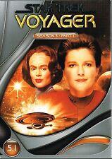 [3 DVD's] Star Trek: Voyager - Season 5 - Part 1 - Kate Mulgrew, Robert Beltran