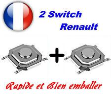 2x Switch bouton de clé carte CML pour Renault Laguna Espace Vel Satis