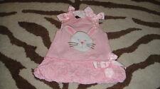 Boutique Eieio Mudpie 0-6 Bunny Rabbit Dress