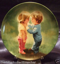 Collector Plate Donald Zolan Sharing Secrets 4th issue