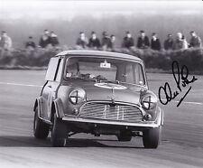 Alec Poole Hand Signed 10x8 Mini Photo Snetterton 1969.
