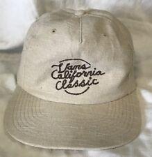linen blend VANS skateboarding hat cap