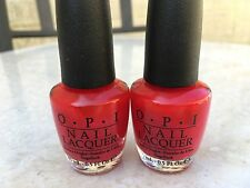 2 x OPI TOO HOT PINK TO HOLD 'EM  (NL T19)