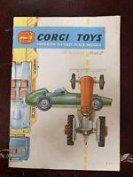 Corgi Catalogue 1959 Uk Version In Excellent Condition