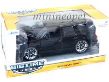 JADA 97300 BIGTIME 2010 10 CHEVROLET TAHOE SUV 1/24 DIECAST MODEL CAR BLACK