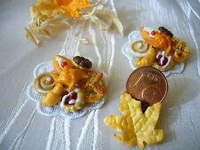 =1 x süße PLATTE= Puppenstubenzubehör Lebensmittel Miniatur 1:12 by HW